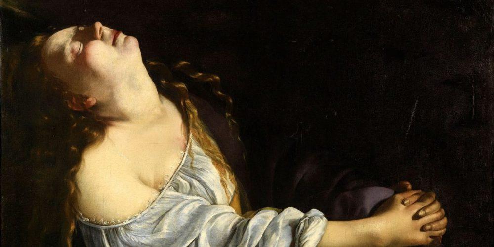 Marie-Madeleine en extase - Artemisia Gentileschi